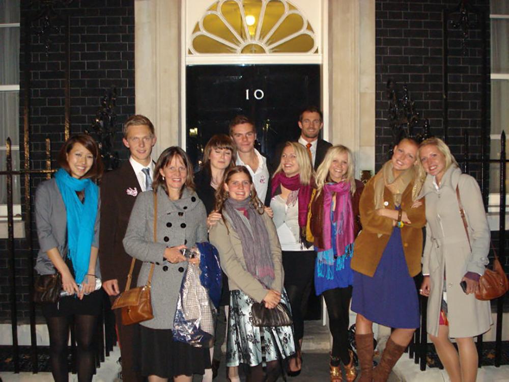 Hugo Bugg at Downing Street