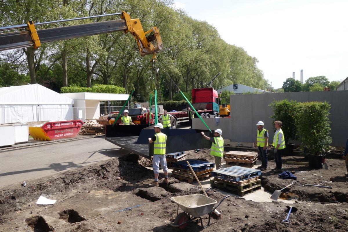 Chelsea 2014 garden build
