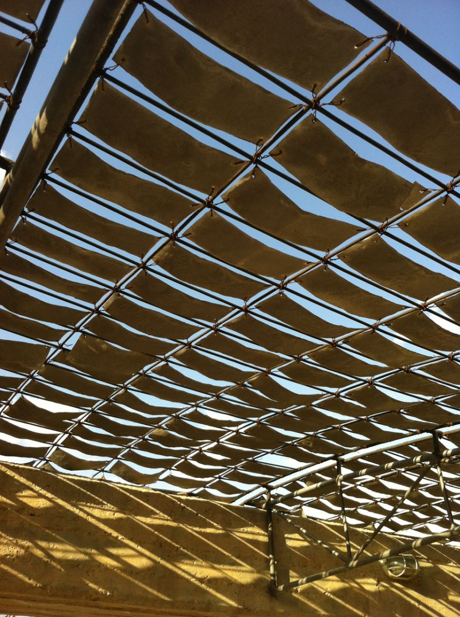 Delicate shade structure
