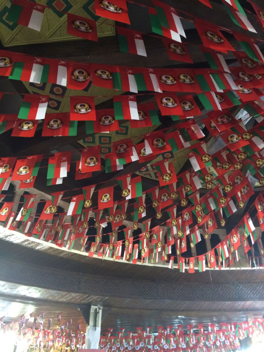 Oman Flags
