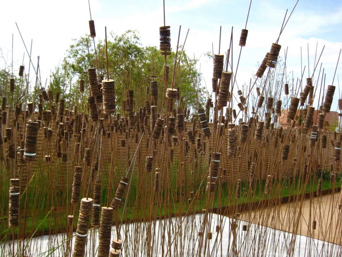 Reed Sculpture