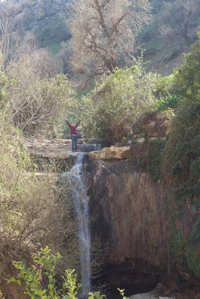 Waterfall in Jordan