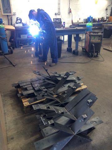 Bespoke steel edging