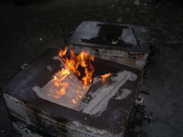 Cast iron moulds
