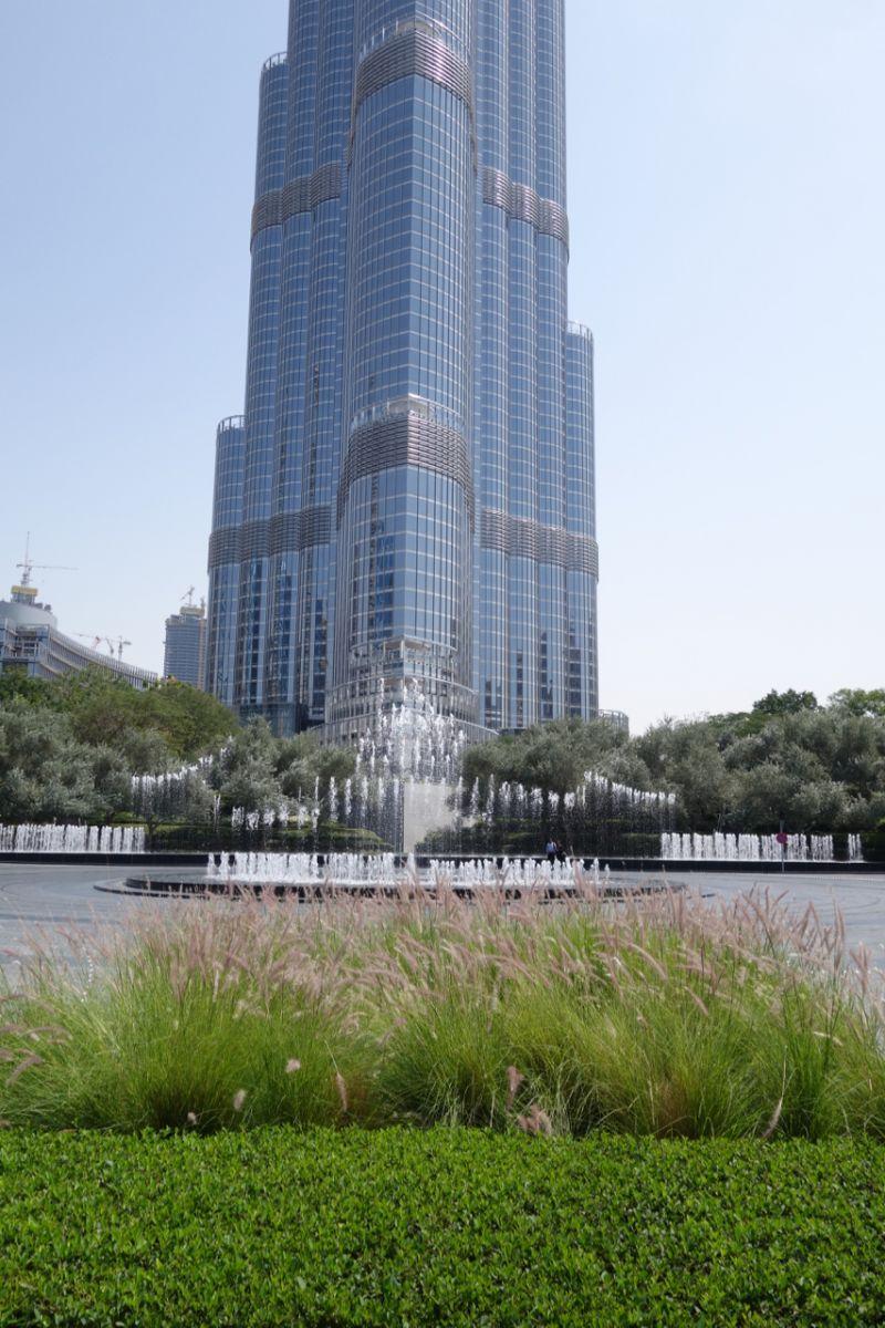 Dubai Water Fountain