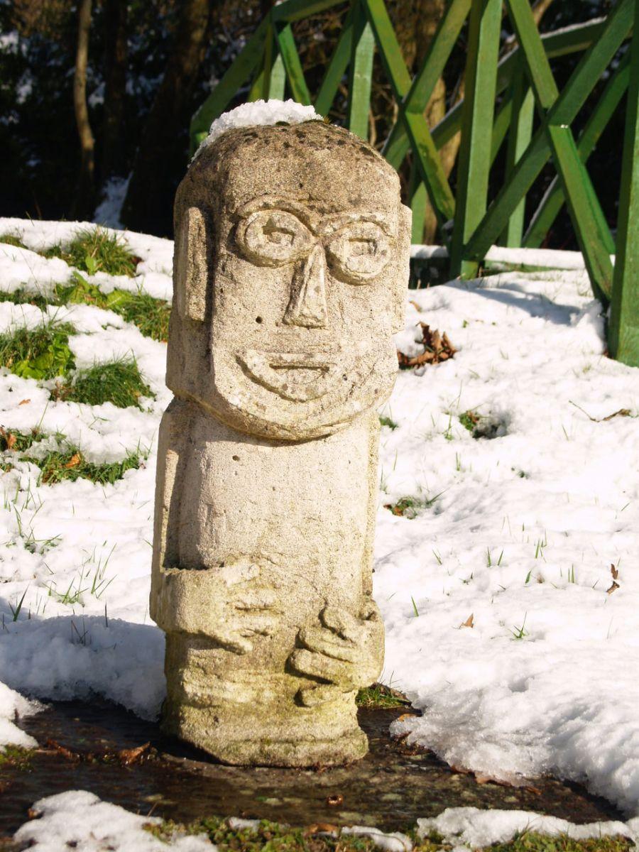 Man sculpture