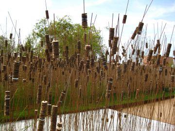 Reed Sculpture