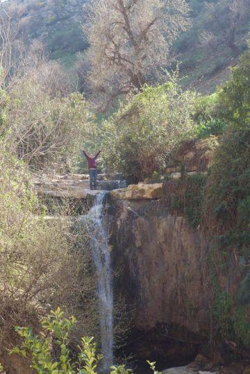 Waterfall in Jordan